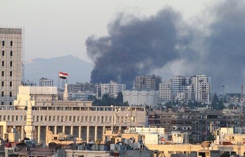 Северо-восточные кварталы Дамаска подверглись минометному обстрелу