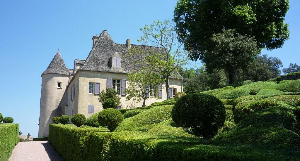 Сады Маркессак во Франции