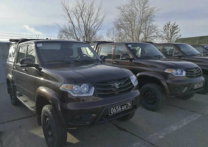 Военная полиция ЗВО получит 140 специальных автомобилей УАЗ «Патриот»