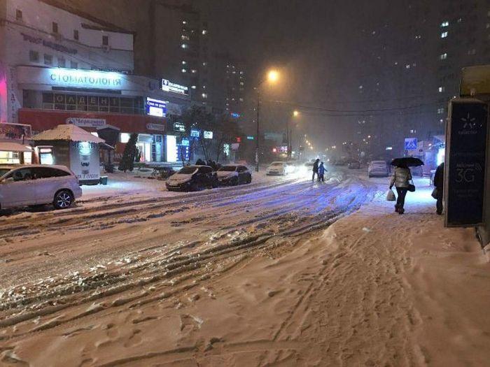 Укроновости: Организатор Майдана 3.0 Путин завалил Киев снегом
