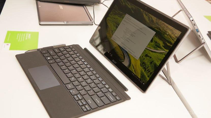 Acer Switch 5 — планшет-трансформер с пассивной системой охлаждения