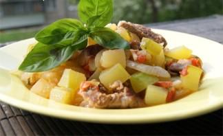 Мясное рагу с кабачками - фото шаг 4