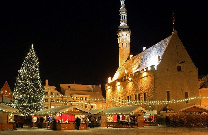 Новый 2018 год в Таллине