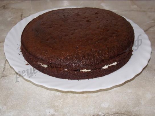 Пышный шоколадный торт рецепт в домашних условиях