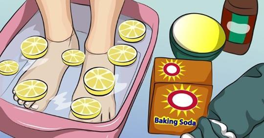 Эта лимонная ванна для ног м…