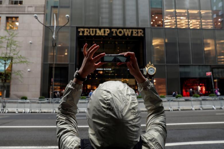 58-этажный небоскрёб Дональда Трампа в Нью-Йорке