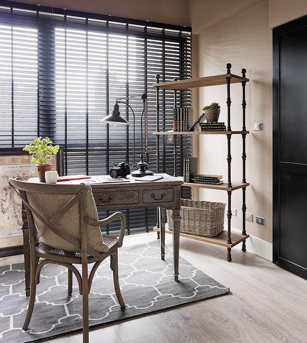 Домашний офис в элегантном стиле