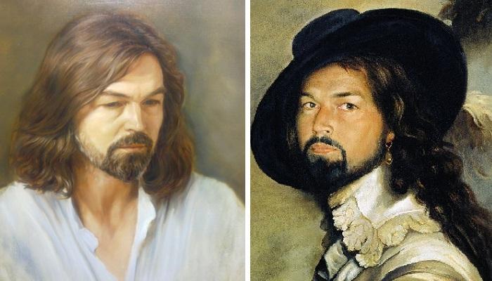 Талантливый художник или удачливый арт-бизнесмен : неподражаемые портреты Никаса Сафронова