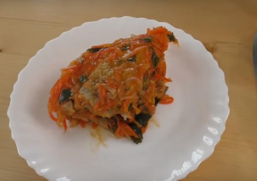 Жареная рыбка под маринадом - очень вкусно