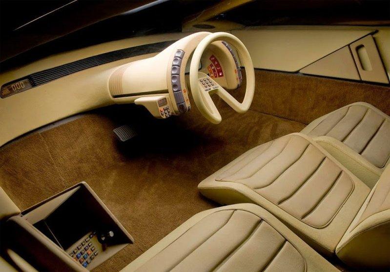 Интересные концептуальные автомобили 70-х и 80-х годов