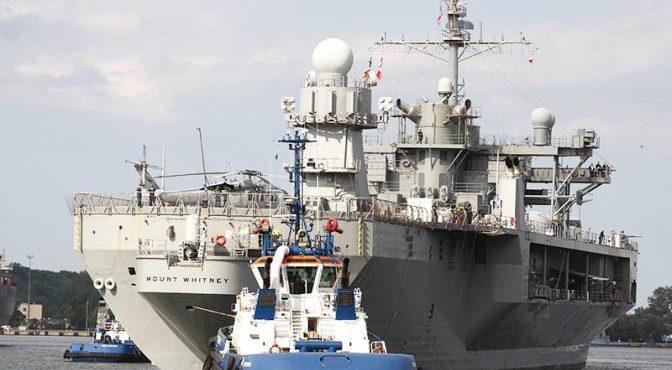 350 кораблей ВМС США против России и Китая