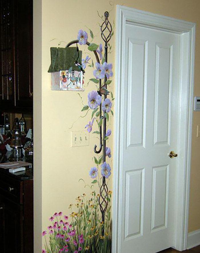 35 блестящих идей для росписи стен