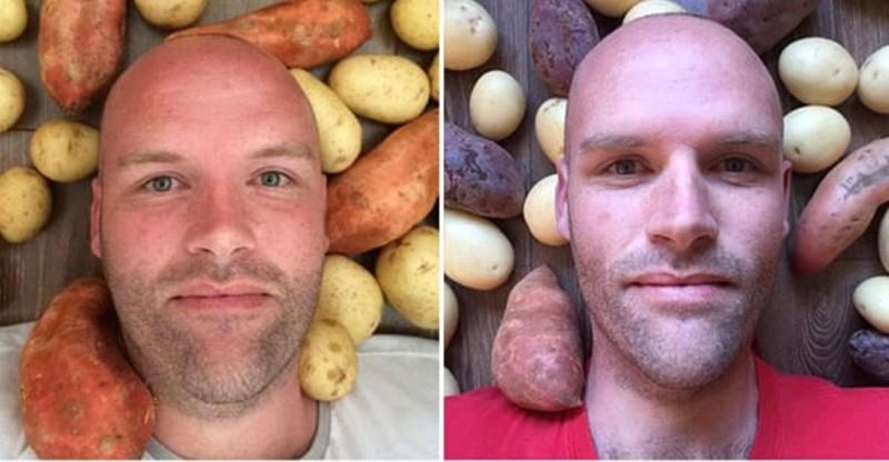 Парень сбросил 50 кило, питаясь лишь одним продуктом... никогда не догадаетесь, каким! диеты, как похудеть, картофель, необычная диета, опыты над собой, похудение, углеводы, эксперимент