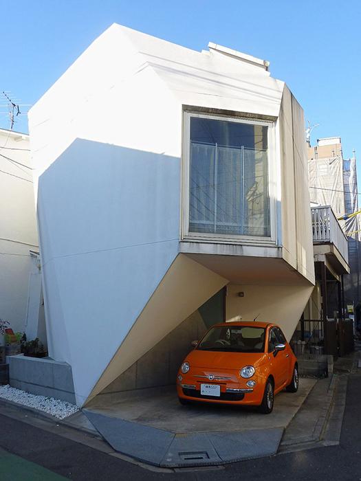 Жилой дом 'Отражение кристалла' в Токио