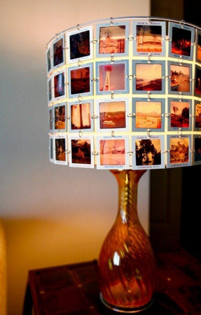 Идея лампы своими руками