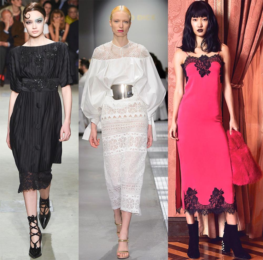 Красивые платья 2017-2018 обзор модных тенденций