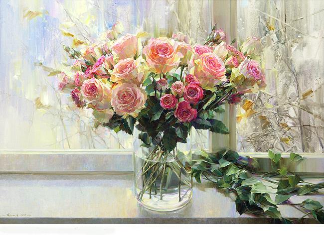 натюрморты цветы-01