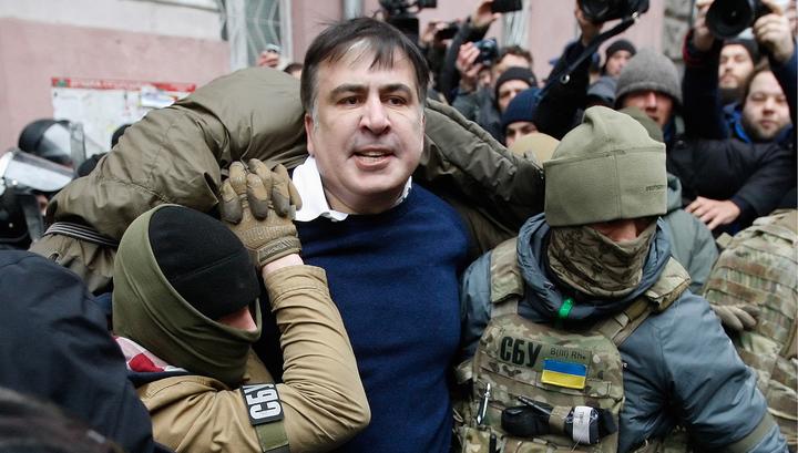 Саакашвили, который живет на крыше