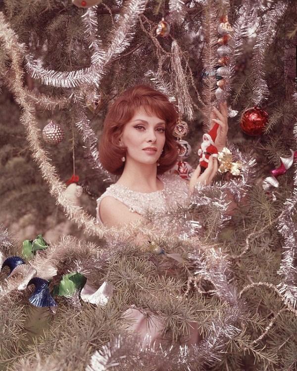 Рождественские фотографии кинозвезд прошлого