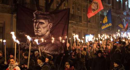 На Украине растёт возмущение «проспектом Шухевича»