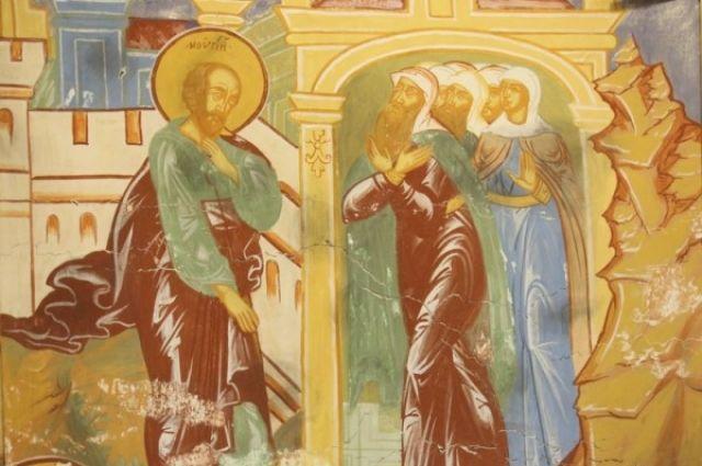 Новгородские археологи нашли фрески XII века, считавшиеся утраченными