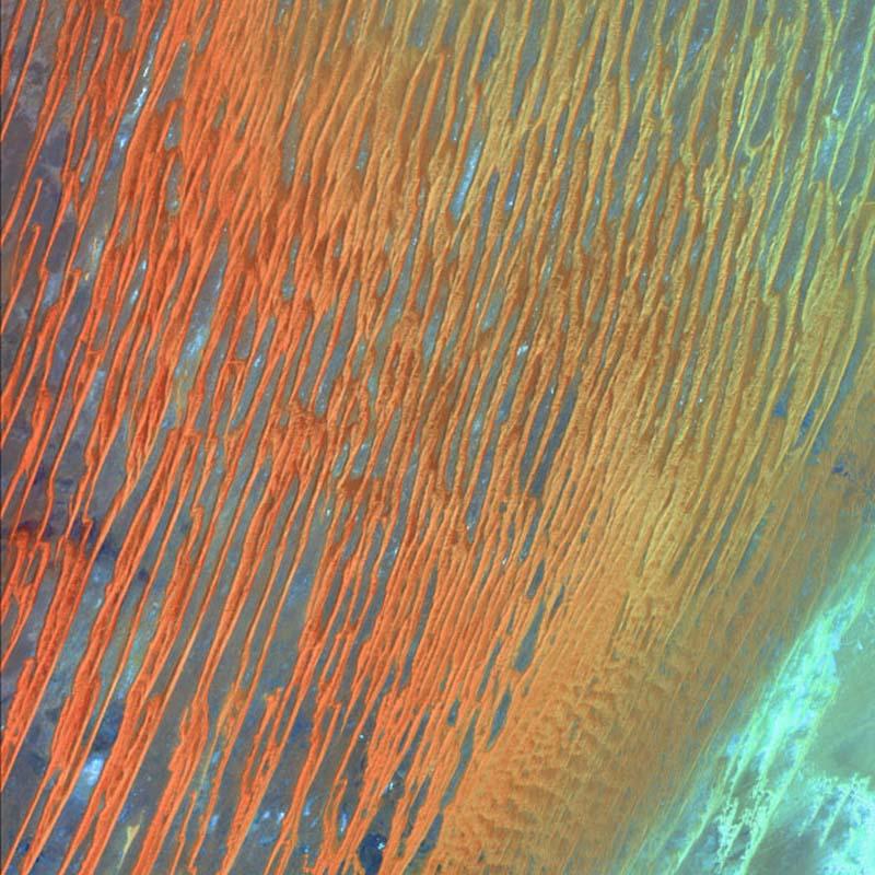 Landsatprogramme 13 Фото со спутника   Земля как произведение искусства