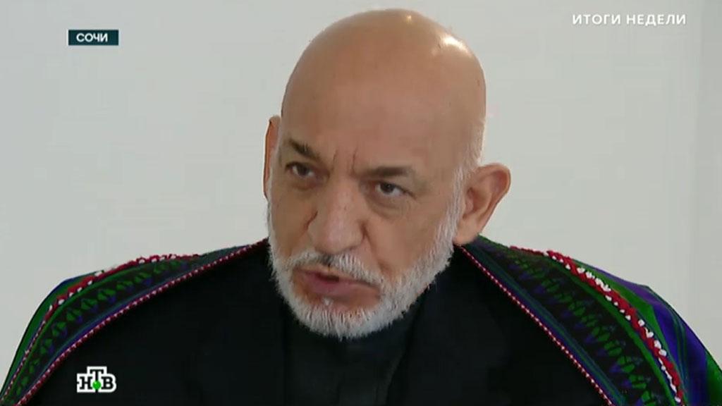 Хамид Карзай — в интервью НТВ: афганское гнездо ИГ угрожает всем соседям
