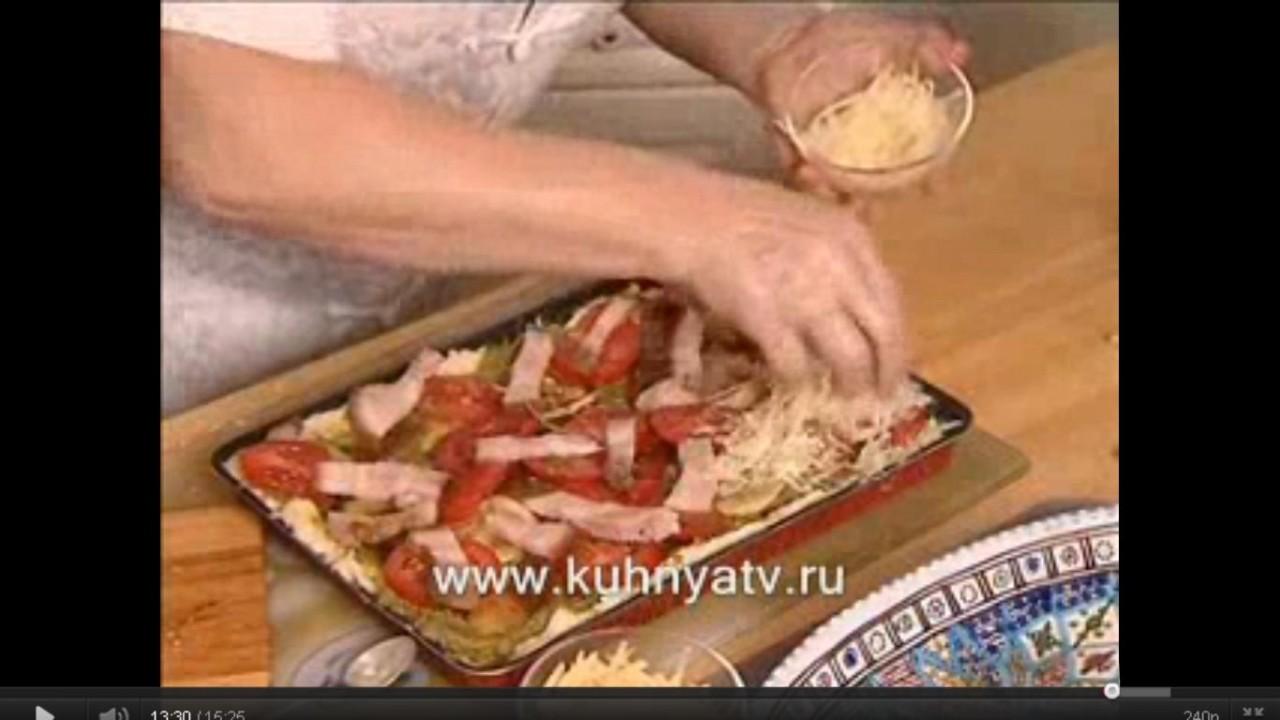 Пицца с картофельным пюре от Аллы Будницкой . Видео-рецепт