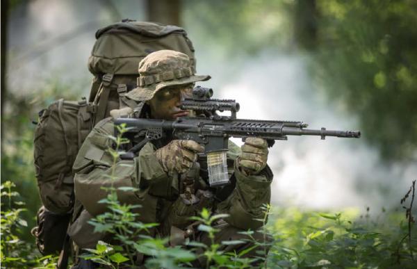 Компании Rheinmetall и Steyr Mannlicher разработали новую автоматическую винтовку RS556