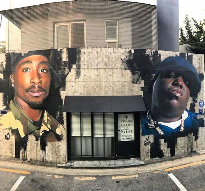 John 3:29 (Южная Корея) в мире, граффити, интересное, искусство, подборка, стрит-арт, уличное искусство