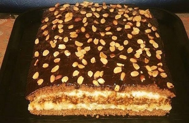 Потрясающе вкусный «Домашний» торт!
