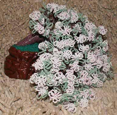 Изготовление шариков для бисерных деревьев