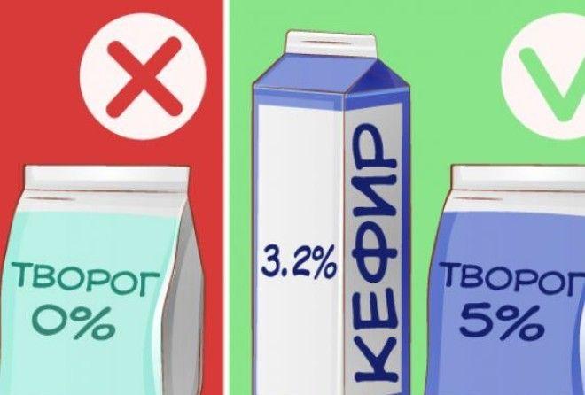 Чем вредны обезжиренные продукты? 4 причины от них отказаться