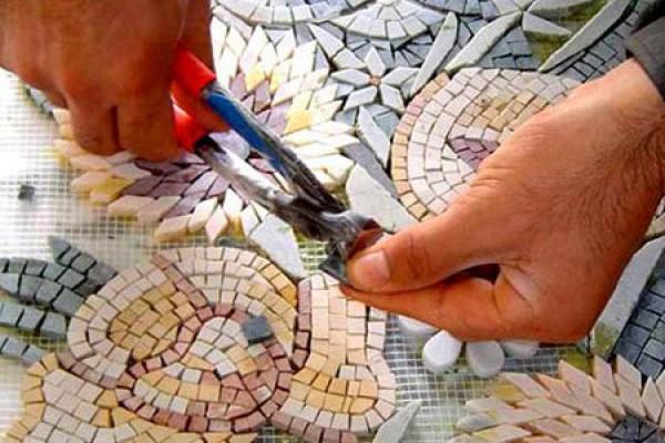 Как сделать мозаику на