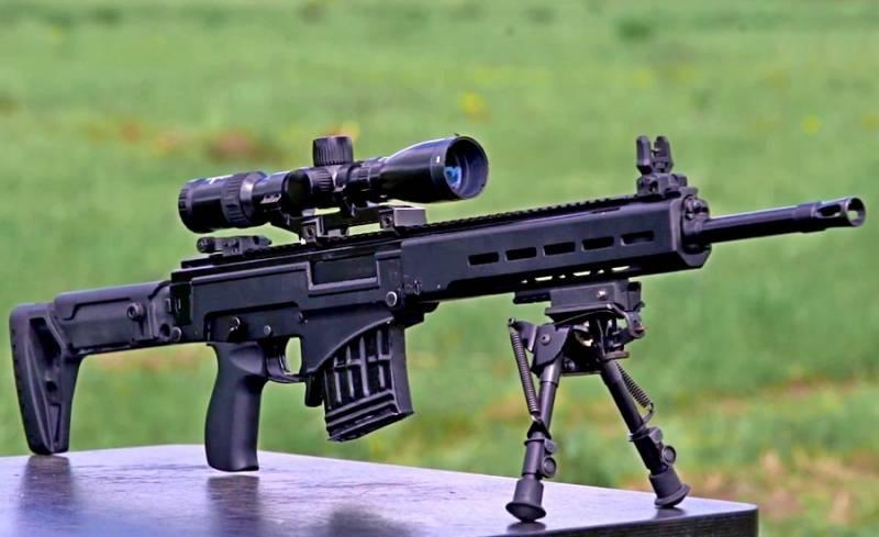 Убойная новинка «Калашникова»: Снайперская винтовка СВЧ