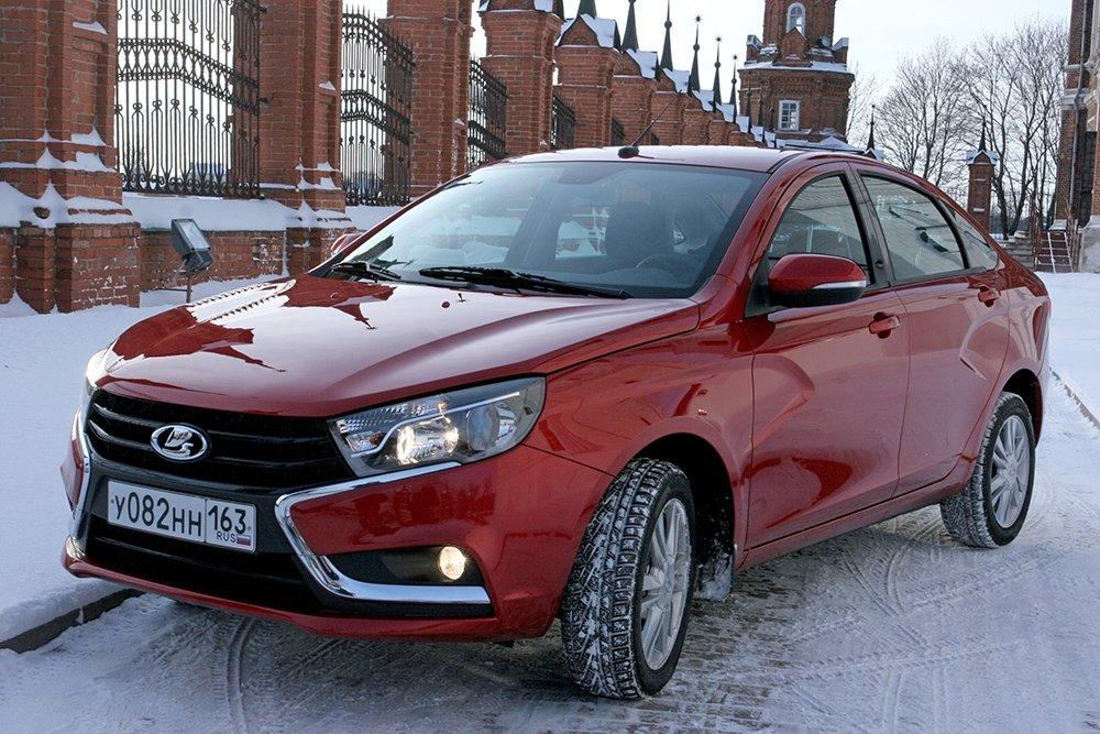 Новая Lada Vesta удостоена международной премии