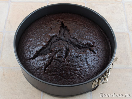 «Дьявольский» шоколадный торт — 5 шаг