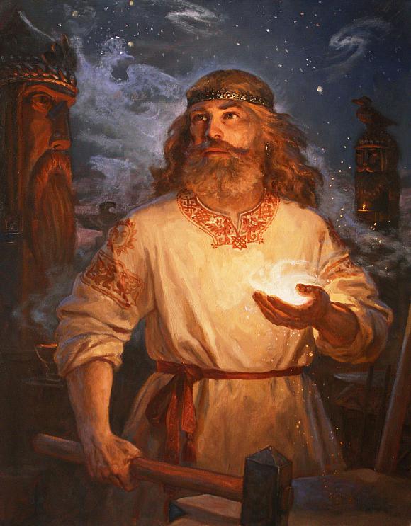 Славянские древности: Сварог и Сварожич