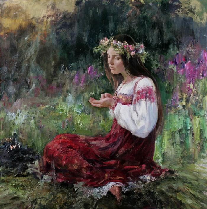 """""""Есть в русской женщине божественная сила..."""" Творчество Анны Виноградовой"""