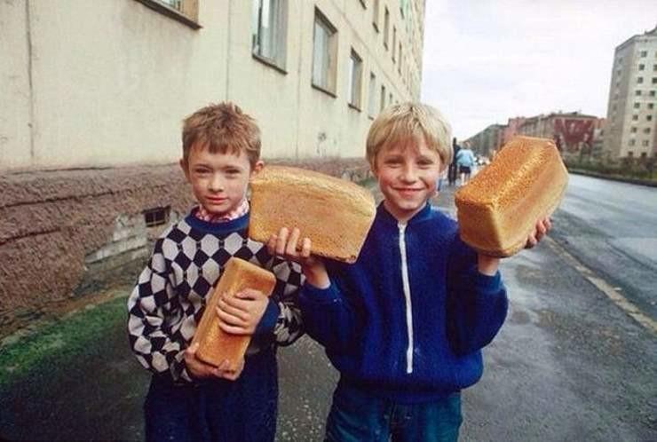 7. И вы отгрызали корочку, пока несли хлеб домой? СССР, люди, рожденные в СССР, советский союз