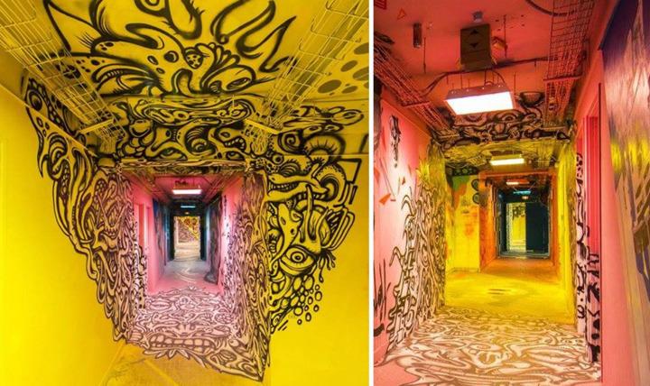 Шпатель не поднимется: перед ремонтом парижское общежитие превратили в маленький Лувр