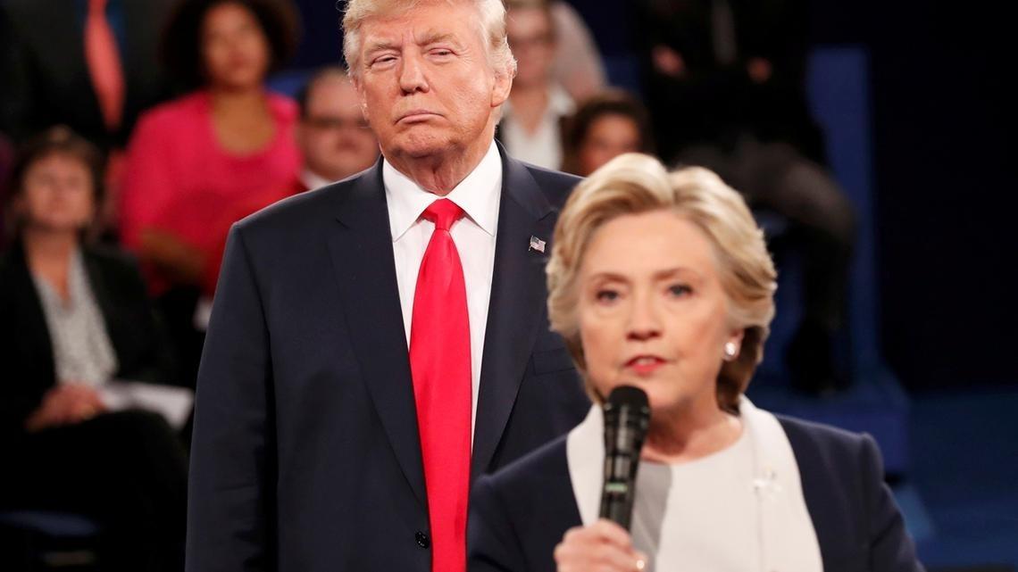 Клинтон грубо оскорбила Трампа