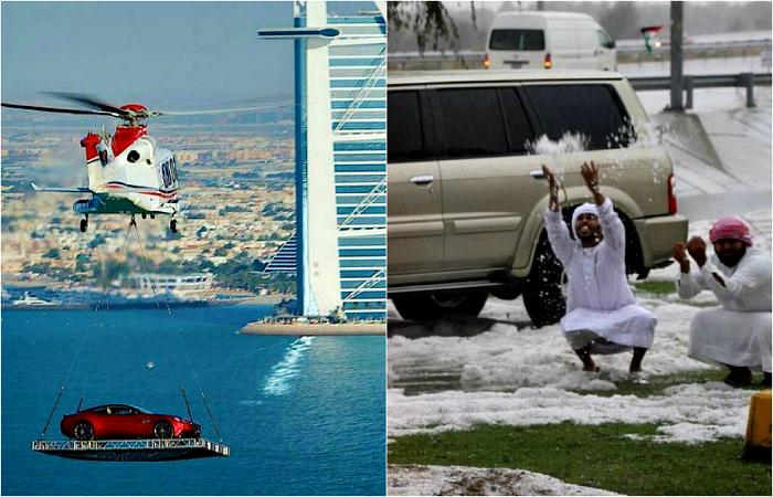 Город богачей: 17 забавных снимков о жизни и отдыхе в Дубае