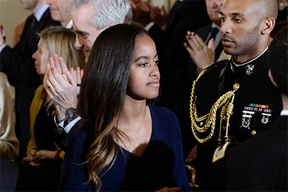 Дочь Обамы устроилась в кинокомпанию