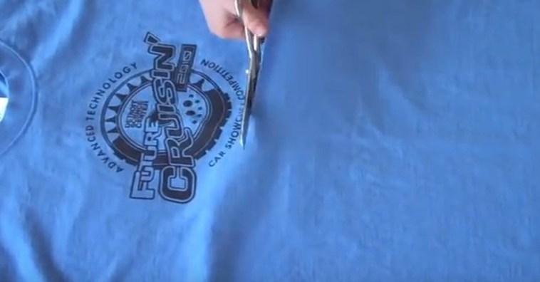 Что еще можно сделать из старой футболки