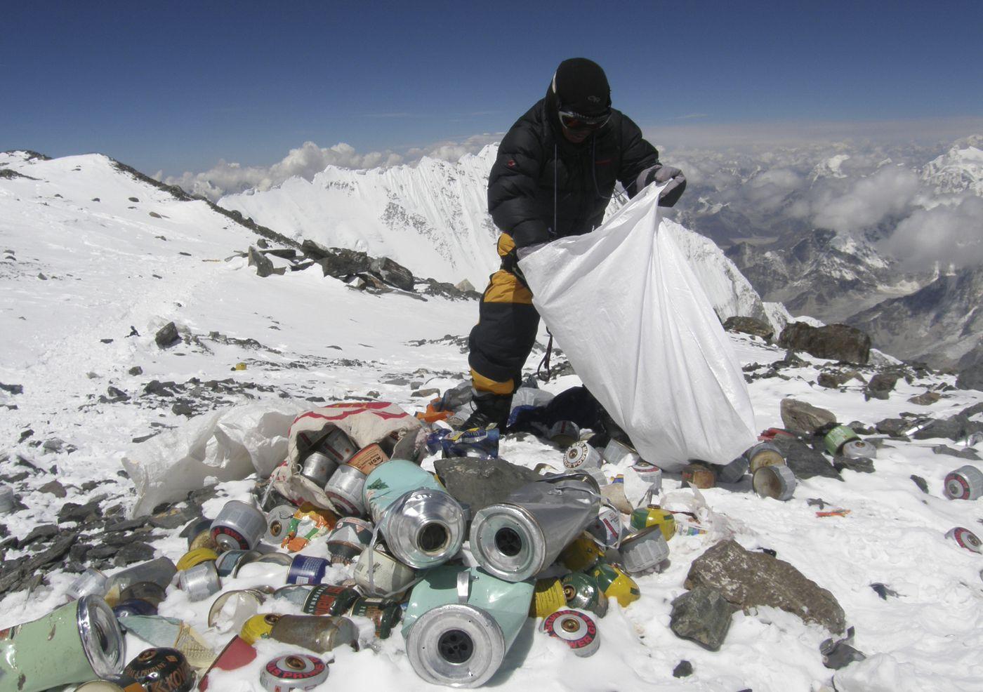 Эверест самая грязная гора в мире