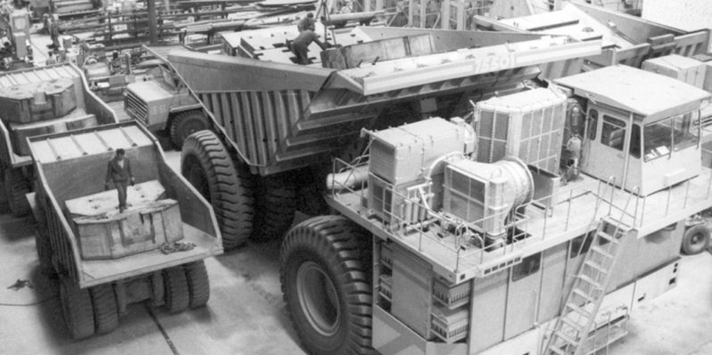 МАЗ, БелАЗ и еще три автомобиля-гиганта из СССР