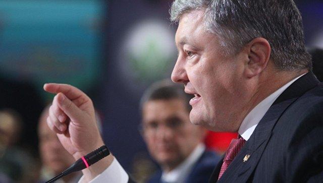 Телеканал NewsOne попросил Порошенко защитить свободу слова на Украине