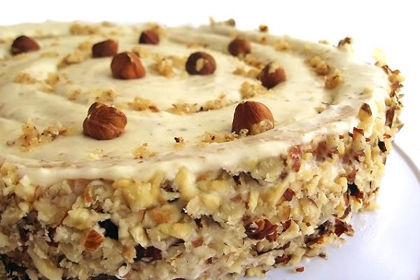 Ореховый торт. Для тех, кто любит орехи, придумать что-то вкуснее, сложно!