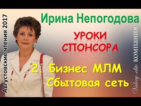 МЛМ  это сбытовая сеть! Уроки спонсора с Ириной Непогодовой